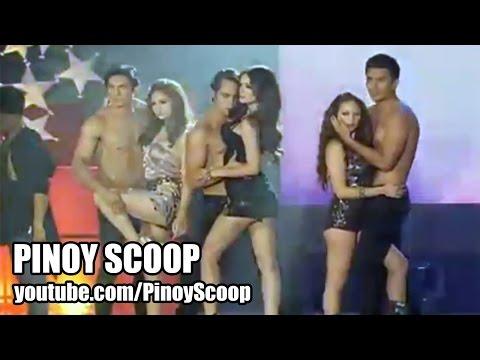 Ellen Adarna, Coleen Garcia And Arci Munoz In Sexy Dance Number