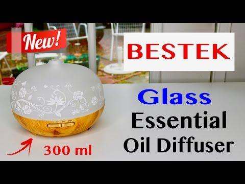 😍 BESTEK  Essential Oil Diffuser  - Review ✅