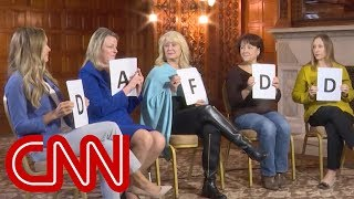 Female voters grade Trump, Democratic party - CNN
