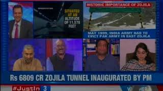 Jammu and Kashmir: PM Modi kickstarts the longest tunnel in Asia, the Zojila Tunnel - NEWSXLIVE