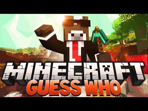 Minecraft GUESS WHO Minigame w/ YOUTUBER HEADS (Guess Who in Minecraft)