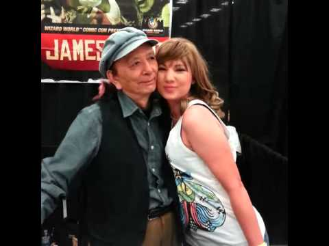 Meeting James Hong!!