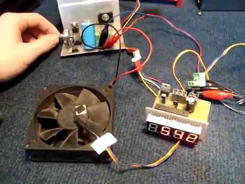 Sterownik KS026,Regulacja prędkości obrotowej silnika
