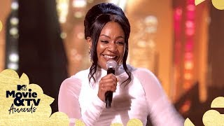 Tiffany Haddish on 'Stranger Things,' 'Riverdale' & More | 2018 MTV Movie & TV Awards - MTV