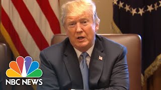 Trump Says He's Instructed Departments To Reunite Previously Separated Immigrant Families | NBC News - NBCNEWS