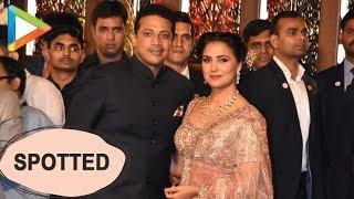 Lara Dutta & Mahesh Bhupathi at Isha Ambani- Anand Piramal's grand Wedding Celebrations - HUNGAMA