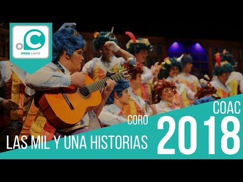 Sesión de Preliminares, la agrupación Las mil y una historias actúa hoy en la modalidad de Coros.