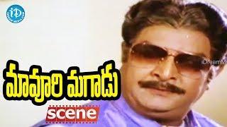 Maavoori Magaadu Movie Scenes - Krishna Meets Kaikala Satyanarayana || Sridevi - IDREAMMOVIES