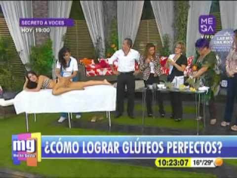 Angelica Contreras - Estética - Levantamiento de Glúteos - Mucho Gusto www.mega.cl