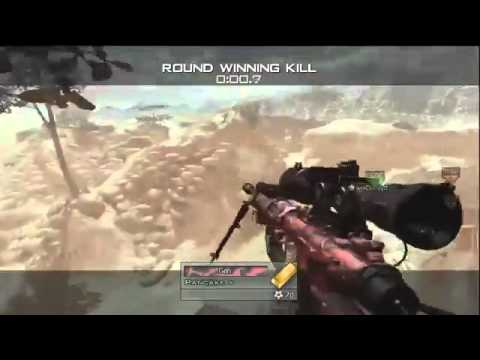 Mw2 : Nasty Wrist twist Killcam