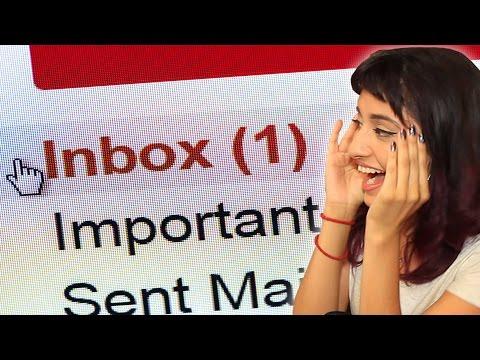 Jaki był pierwszy mail, który wysłałeś?