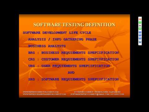 MANUAL TESTING TUTORIAL  TESTING DEFINITION MAKES EASY