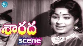 Sarada Movie Scenes - Sharada And Jayanti Comedy || Shobhan Babu || Allu Ramalingaiah - IDREAMMOVIES