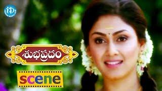 Subhapradam Movie Scenes - Manjari Phadnis Meets Allari Naresh    Allari Naresh - IDREAMMOVIES