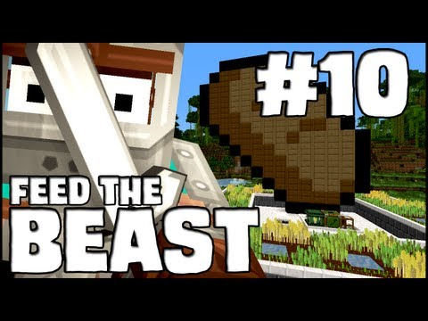 Minecraft Feed The Beast - Episode 10: Automated Wheat Farm &amp; Bread Maker