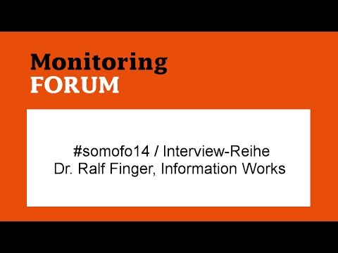 #somofo / Interview: Dr. Ralf Finger, Information Works