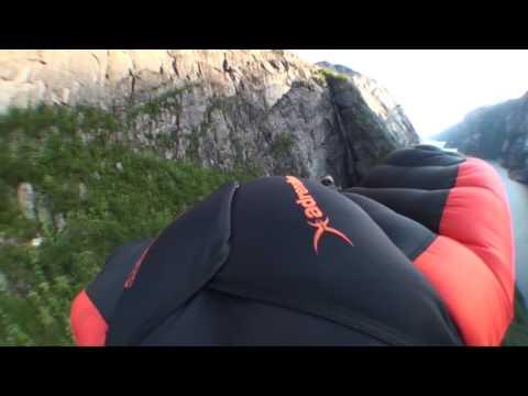 Norway HeliBoogie - Vampire3 wingsuit Flying