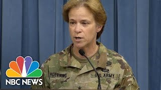 Pentagon Updates On Hurricane Response Efforts In Puerto Rico, Virgin Islands | NBC News - NBCNEWS