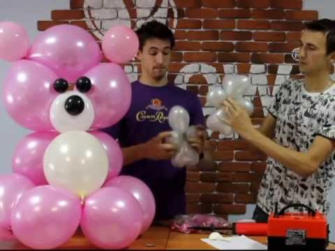 видео уроки украшение шарами