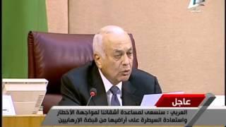 فيديو.. نبيل العربي: القوة العربية ليست حلفًا عسكريًا جديدًا