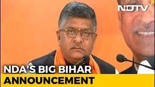 Not Shatrughan Sinha, BJP Fields Ravi Shankar Prasad From Patna Sahib - NDTV