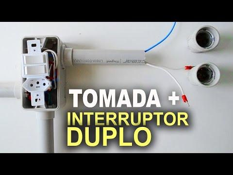 Como instalar tomada com interruptor