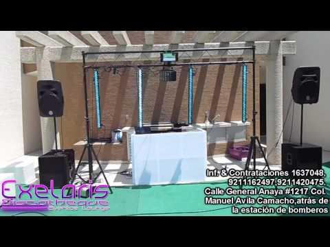 Exelaris - luz y sonido basico
