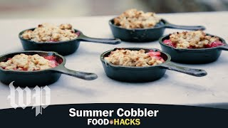 Summer Cobbler | Mary Beth Albright's Food Hacks - WASHINGTONPOST