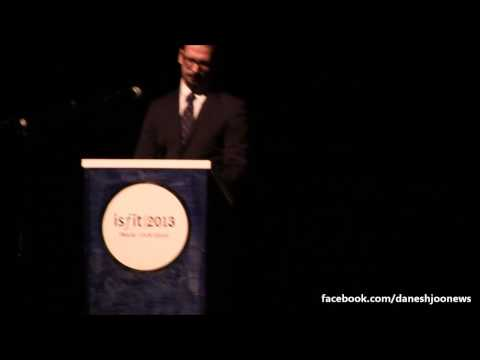 Student Peace Prize Ceremony 2013- Iranian NGO Leader Speaks Out for Majid Tavakoli