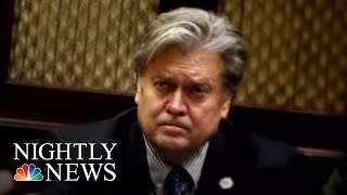 FBI Agents Approached Steve Bannon To Discuss Russia Probe Subpoena | NBC Nightly News - NBCNEWS
