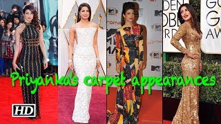 Birthday Special: Priyanka's gorgeous carpet appearances - BOLLYWOODCOUNTRY