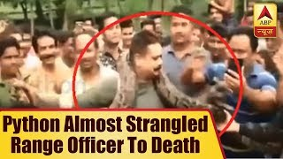 Python Almost Strangled Range Officer To Death - ABPNEWSTV