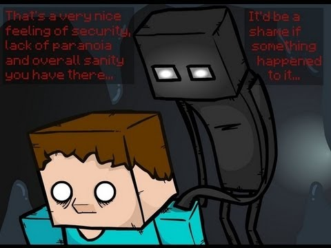 Enderman Stare Down 