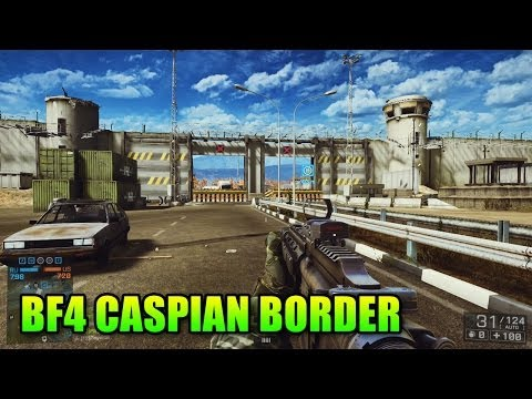 Caspian Border First Look! Mega Wall (Battlefield 4: XBOX ONE Second Assault Gameplay/Commentary)