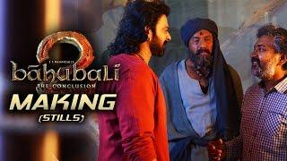 Baahubali 2 Movie Making | Working Stills | Prabhas | Rana | Anushka | TFPC - TFPC