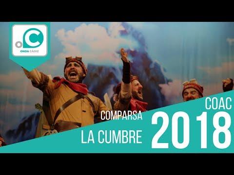 La agrupación La cumbre llega al COAC 2018 en la modalidad de Comparsas. Primera actuación de la agrupación para esta modalidad.