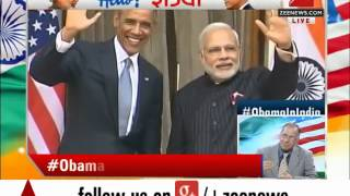 US President Obama, PM Modi hold bilateral talks at Hyderabad House - ZEENEWS