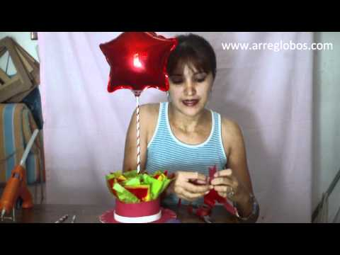 Centro de Mesa jessie la vaquerita www.arreglobos.com
