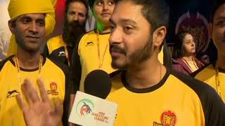 PWL 3 Day 9: Bollywood Actor Shreyas Talpade shows his support for the team Veer Marathas - NEWSXLIVE