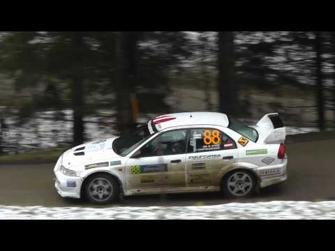 Dr Bernhard Stitz   Thomas Leopoldsedr EVO VI on Janner Rallye 2012 by TMG