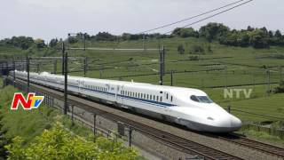 China's Fastest Bullet Train Makes Debut || Top Speed 400 kmph Maximum Speed || NTV - NTVTELUGUHD
