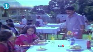 Eppudo Ekkado Song - Illu Illalu Pillalu Movie Songs - Vijayanand Songs, Urvashi Sharada, Visu - IDREAMMOVIES
