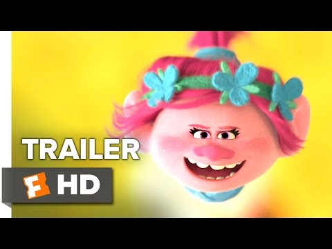 Trolls Official Trailer 1 (2016) - Justin Timberlake Movie