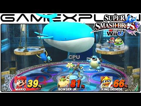 Smash Bros Wii U: Kalos Pokémon League Stage (1080p Direct Feed Gameplay)
