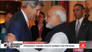 US President Barack Obama welcomes Narendra Modi to White House - TIMESNOWONLINE