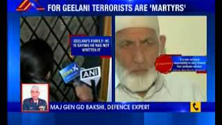 NewsX Exclusive: For Geelani terrorists are 'Martyrs' - NEWSXLIVE