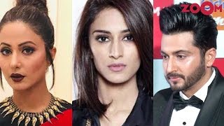 Erica & Hina celebrate Holi together | Dheeraj to host Dance India Dance season 7? - ZOOMDEKHO