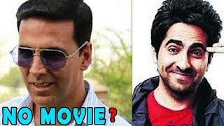 Ayushmann has not Signed Akshay Kumar's Movie - ZOOMDEKHO