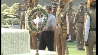 India's Interior Minister pays homage to deceased police bravehearts in New Delhi - ANIINDIAFILE