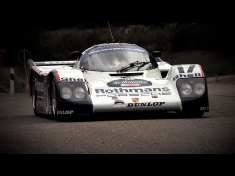 Flat Out In a Le Mans Winning Porsche 962 - CHRIS HARRIS ON CARS